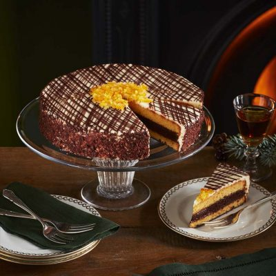 Cointreau And Orange Chocolate Torte
