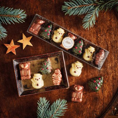 Christmas Chocolate Characters