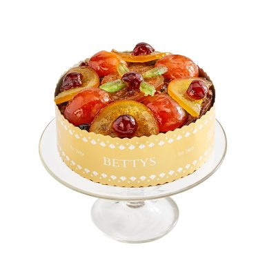 Jewelled Fruits Christmas Cake