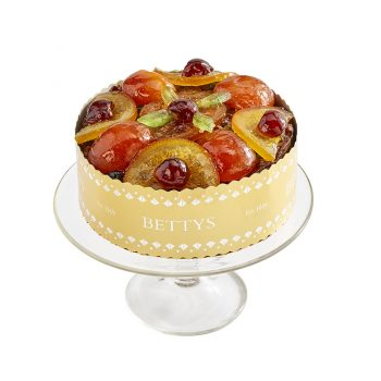 Jewelled Fruit Christmas Cake