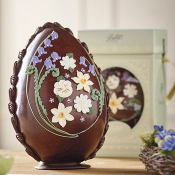 Large Milk Chocolate Spring Flowers Egg Lifestyle