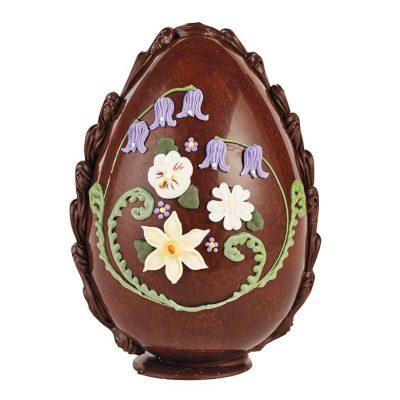 Medium Spring Flowers Easter Egg