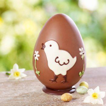 Milk Chocolate Chick Egg Lifestyle
