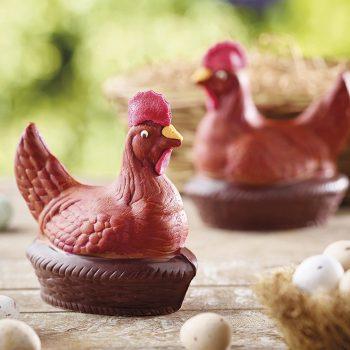 Milk Chocolate Laying Hen