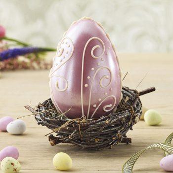 Milk Chocolate Lustre Egg