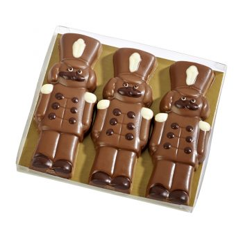 Milk Chocolate Soldiers