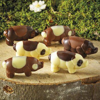 Miniature Chocolate Piglets