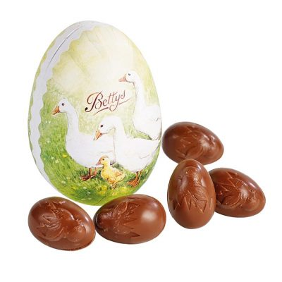 Papier Mache Egg With Milk Chocolate Eggs