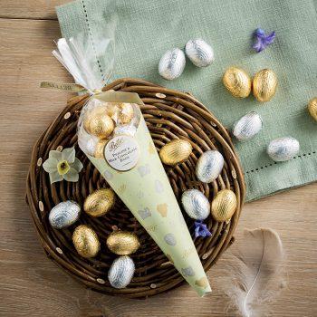 Praline And Milk Chocolate Eggs Lifestyle