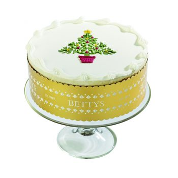 Royal Iced Tree Christmas Cake