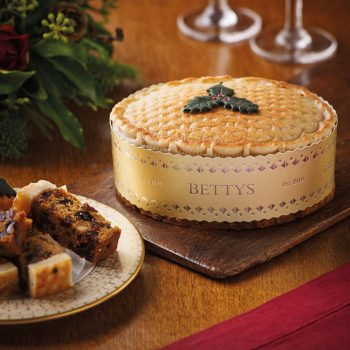 Toasted Marzipan Christmas Cake
