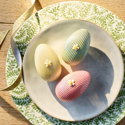 Trio Of Filled Chocolate Eggs
