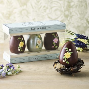 Trio Of Spring Flower Eggs