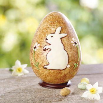 White Chocolate Rabbit Egg