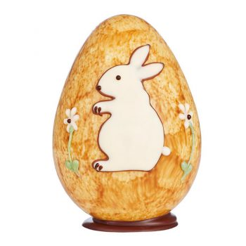 White Chocolate Rabbit Egg